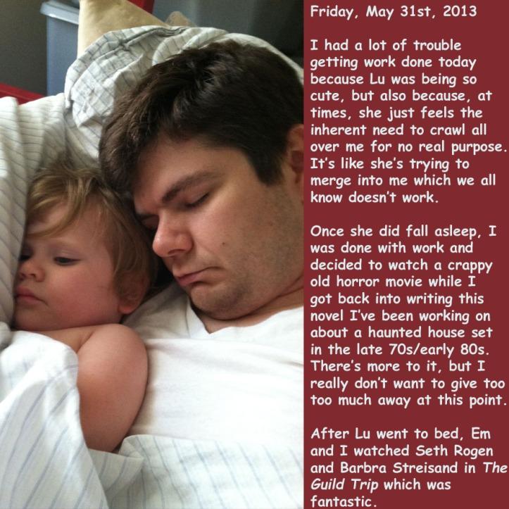 Friday, May 31st, 2013