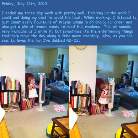 Friday, July 12th, 2013