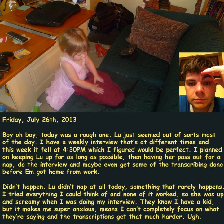 Friday, July 26th, 2013
