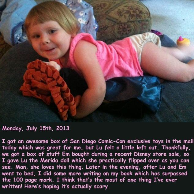 Monday, July 15th, 2013