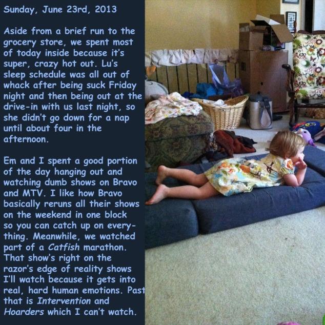 Sunday, June 23rd, 2013