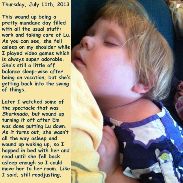Thursday, July 11th, 2013