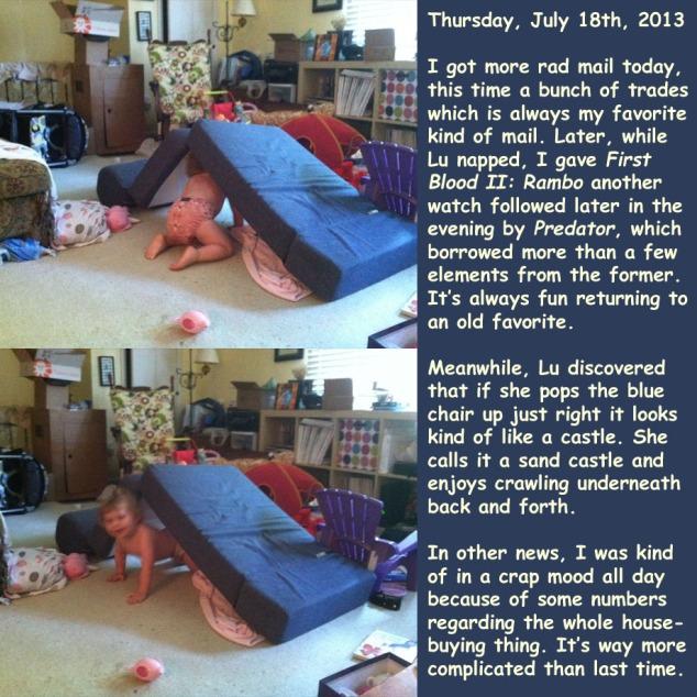 Thursday, July 18th, 2013