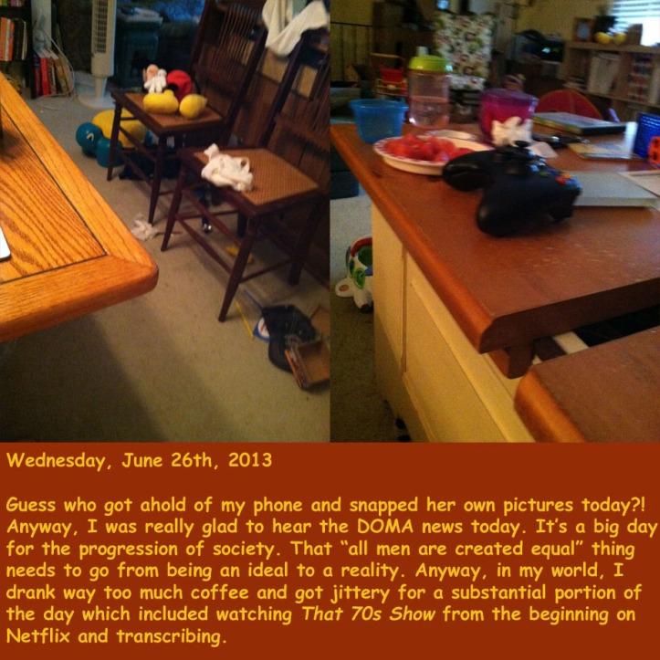Wednesday, June 26th, 2013