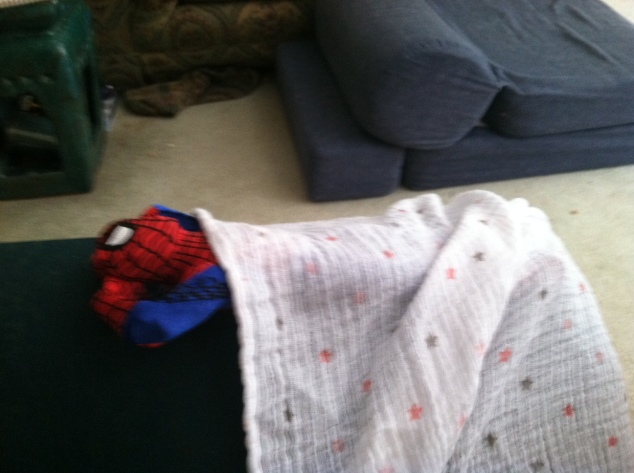 famous covers spider-man nap time