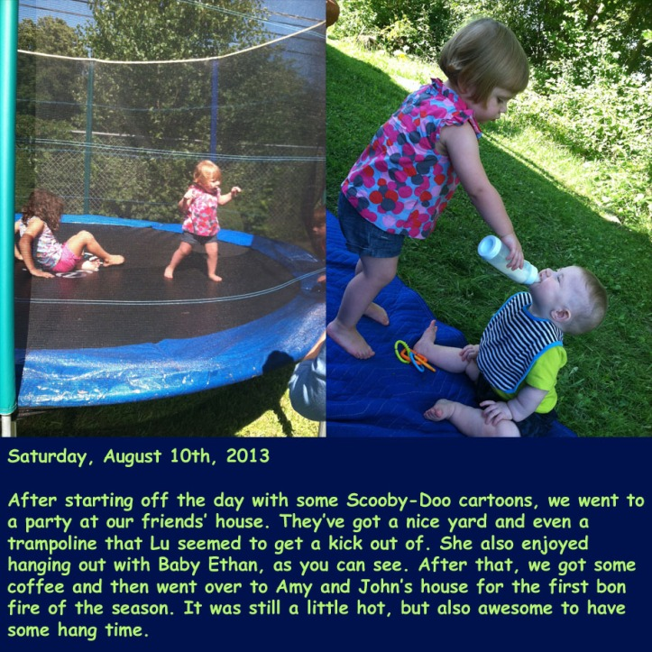 Saturday, August 10th, 2013