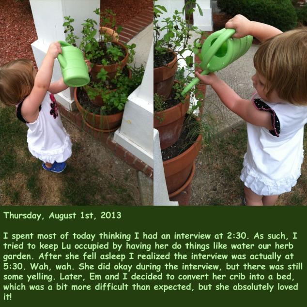 Thursday, August 1st, 2013