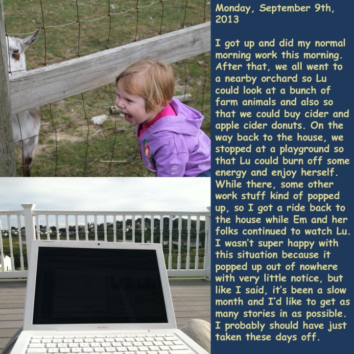 Monday, September 9th, 2013