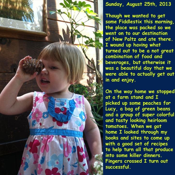 Sunday, August 25th, 2013