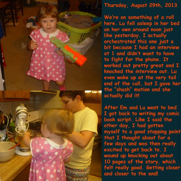 Thursday, August 29th, 2013