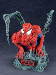 dst spider-man bust