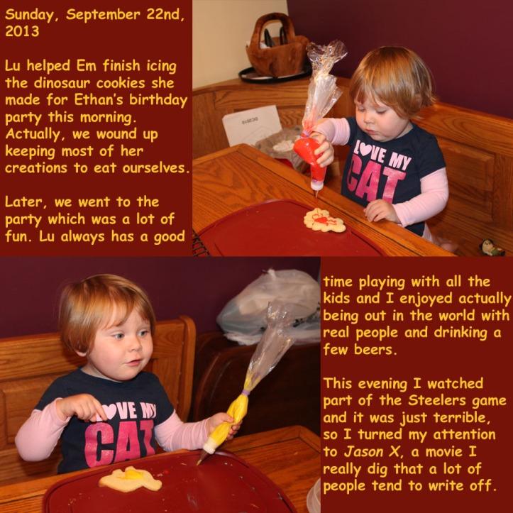Sunday, September 22nd, 2013