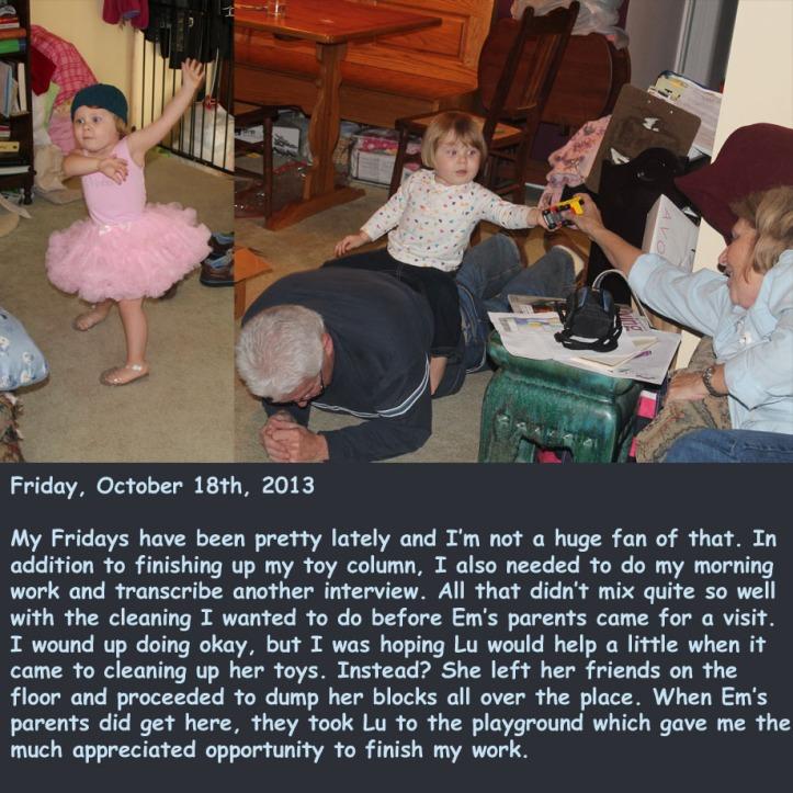 Friday, October 18th, 2013