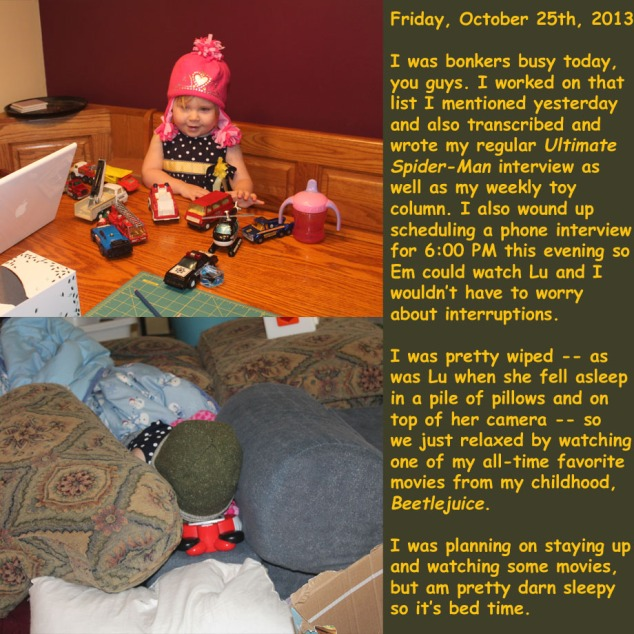 Friday, October 25th, 2013