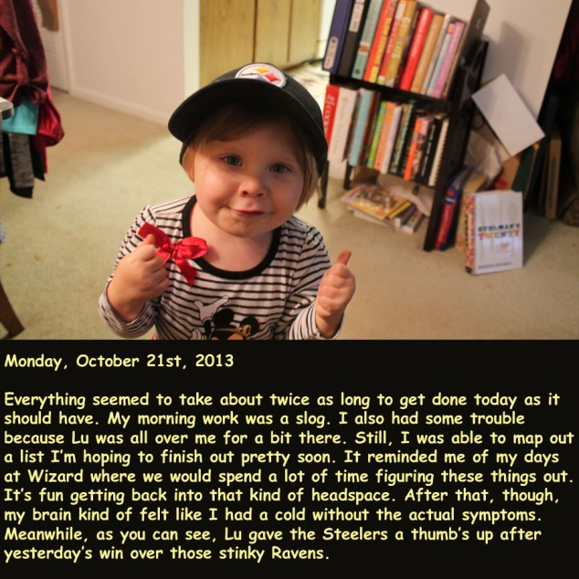 Monday, October 21st, 2013