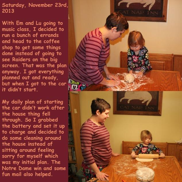 Saturday, November 23rd, 2013