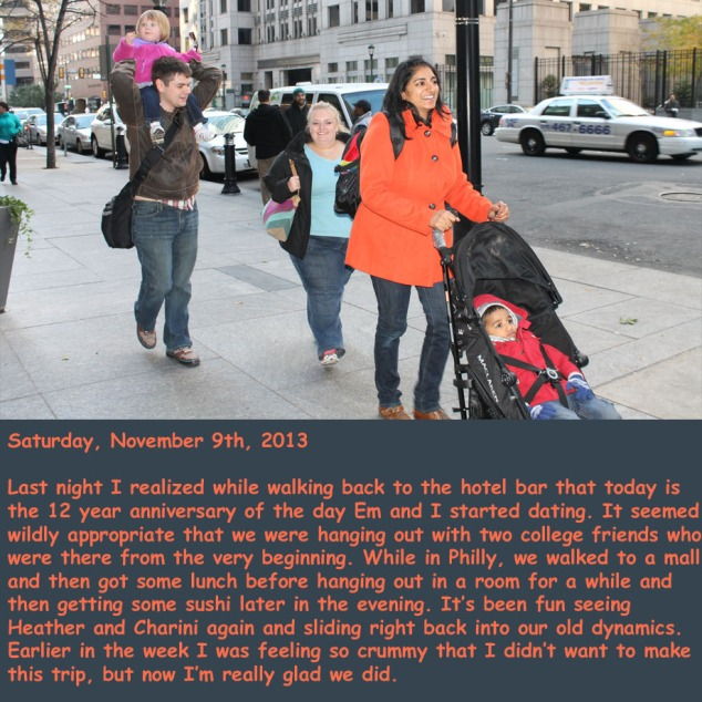Saturday, November 9th, 2013