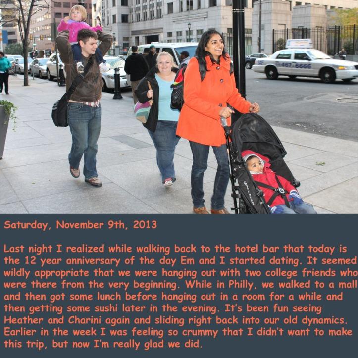 Saturday, November 9th, 2013