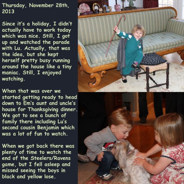 Thursday, November 28th, 2013