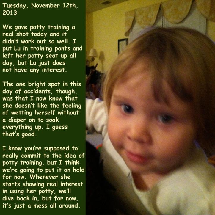 Tuesday, November 12th, 2013