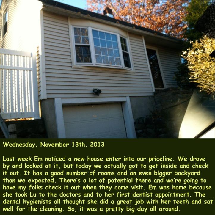 Wednesday, November 13th, 2013
