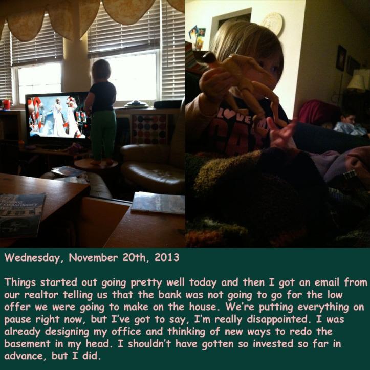 Wednesday, November 20th, 2013