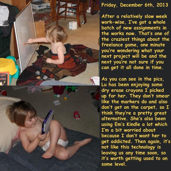 Friday, December 6th, 2013