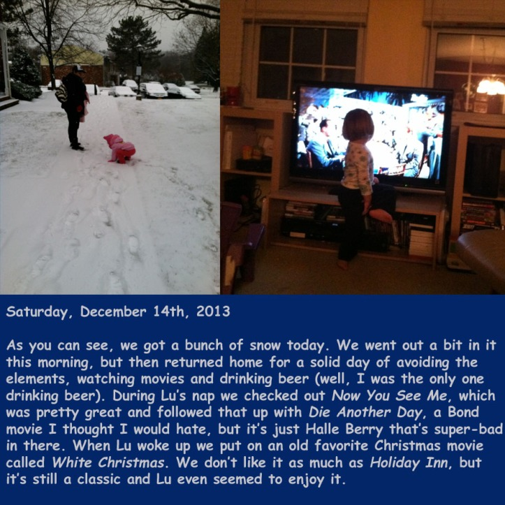 Saturday, December 14th, 2013