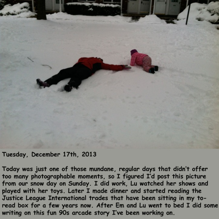 Tuesday, December 17th, 2013