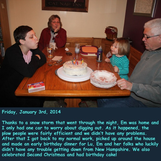 Friday, January 3rd, 2014