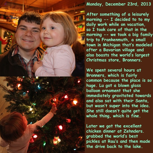 Monday, December 23rd, 2013
