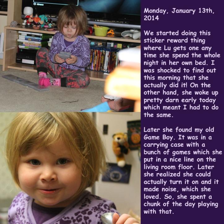 Monday, January 13th, 2014