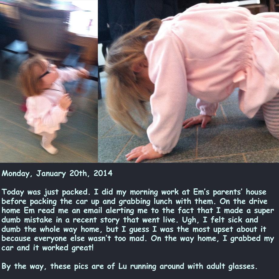 Photo Diary: Monday, January 20th, 2014