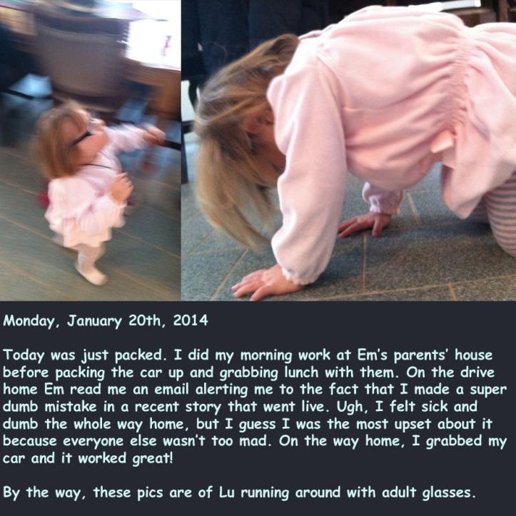 Monday, January 20th, 2014