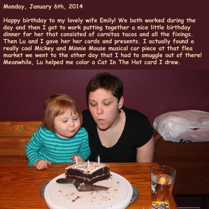 Monday, January 6th, 2014