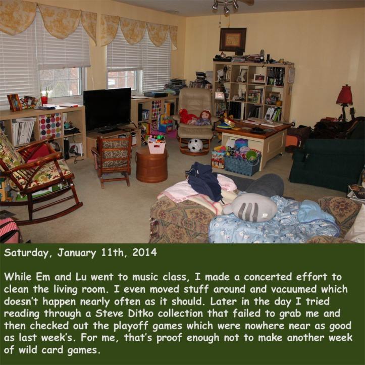 Saturday, January 11th, 2014