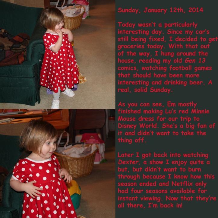 Saturday, January 12th, 2014