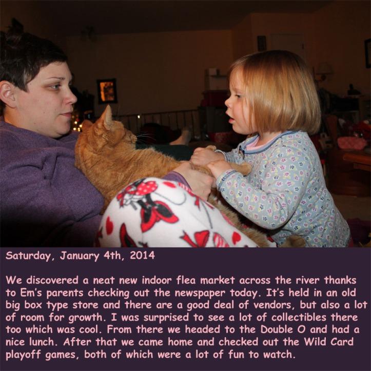 Saturday, January 4th, 2014