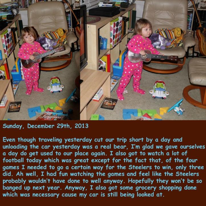 Sunday, December 29th, 2013