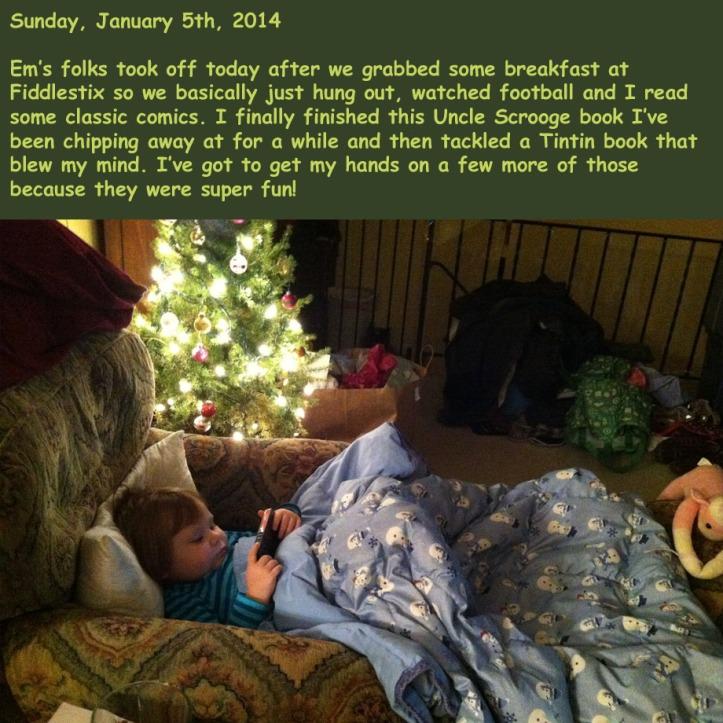 Sunday, January 5th, 2014