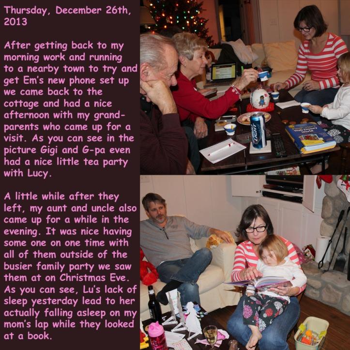 Thursday, December 26th, 2013