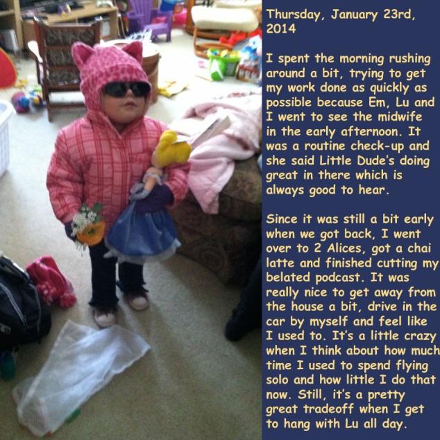 Thursday, January 23rd, 2014