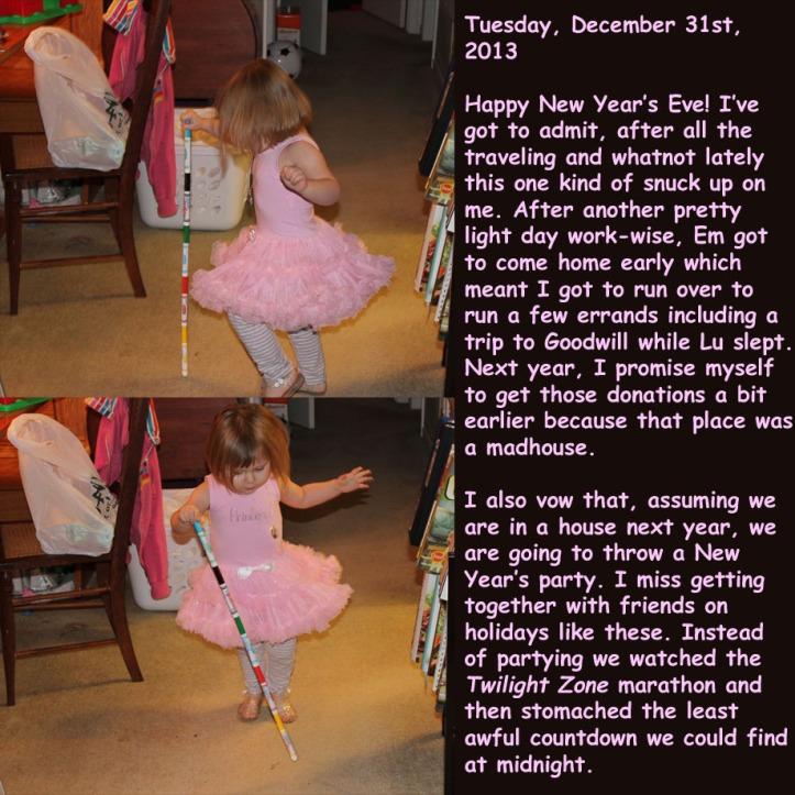 Tuesday, December 31st, 2013