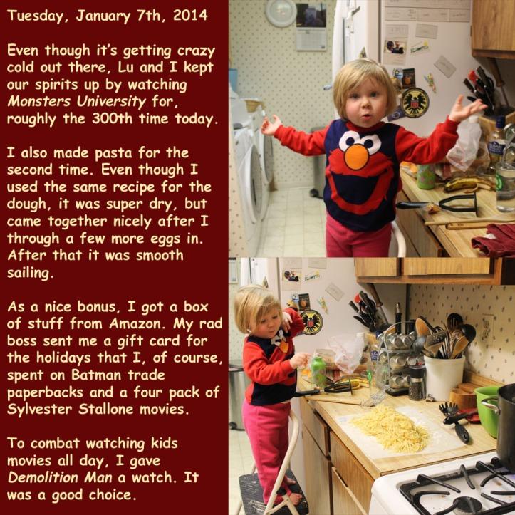 Tuesday, January 7th, 2014
