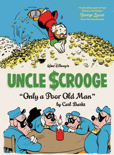 uncle scrooge only a poor old man