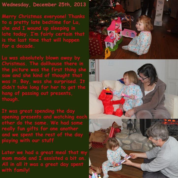Wednesday, December 25th, 2013