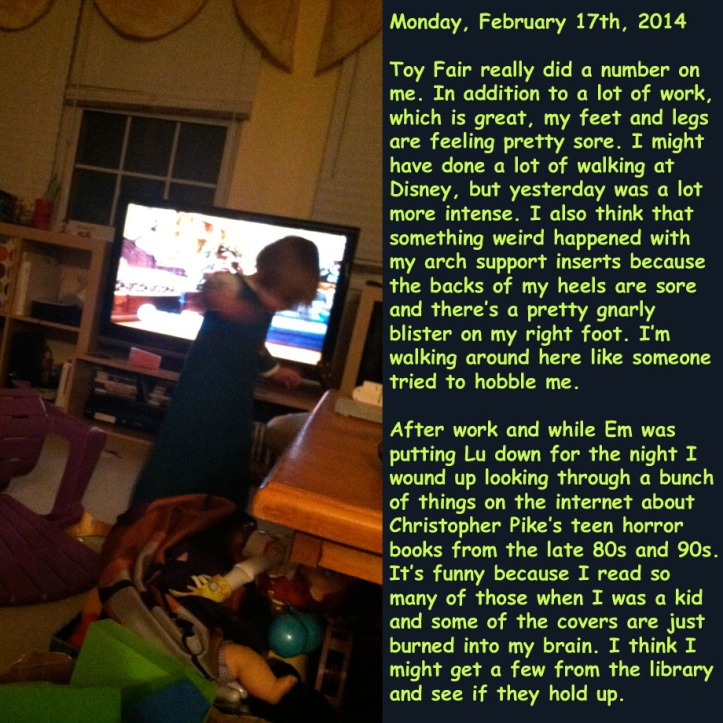 Monday, February 17th, 2014