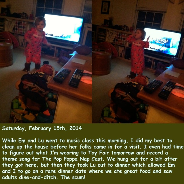 Saturday, February 15th, 2014