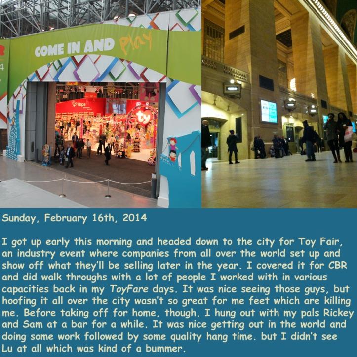 Sunday, February 16th, 2014