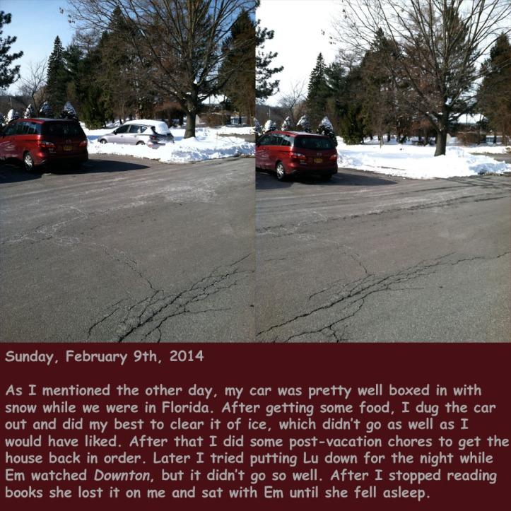 Sunday, February 9th, 2014